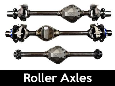 Crane Axle Roller Axle Assemblies