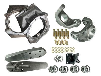 Crane Axle Magnum Knuckles
