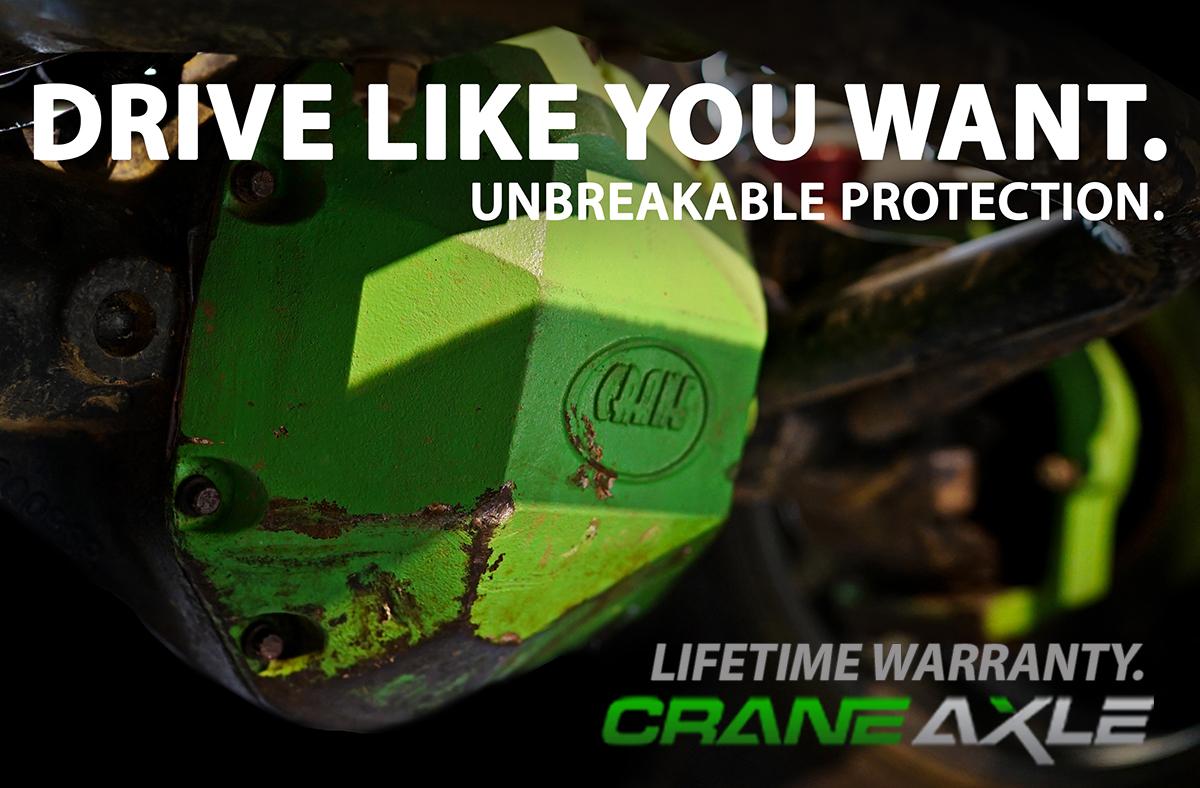 Crane Axle Diff Cover Banner