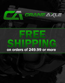 Crane Axle Free Shipping Side Banner